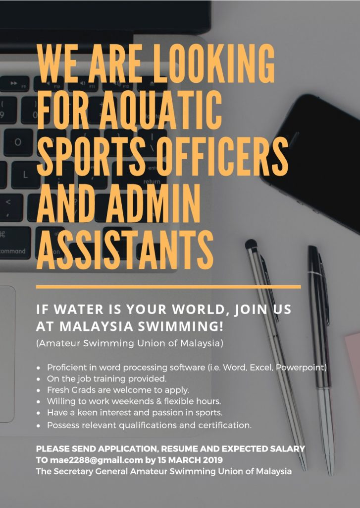 Amateur Swimming Union of Malaysia – Welcome to the official